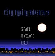City Typing Adventure