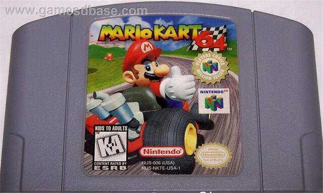 File:Mario Kart 64 Game Cartridge.jpg