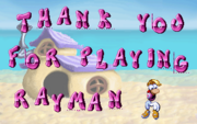 Thank you for playing Rayman (29)