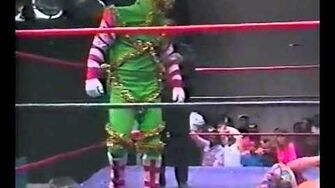 Christmas Creature vs Trey Keller