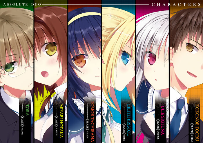 Absolute Duo Character