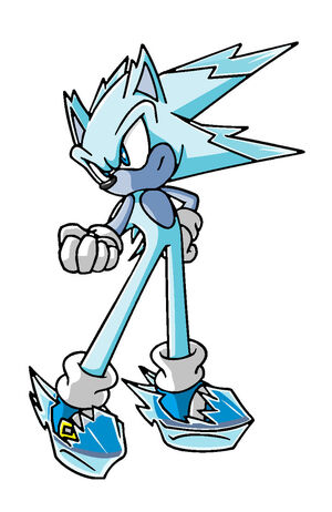 Ice Hedgehog Dude
