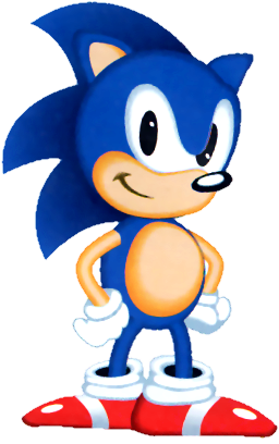 File:Sonic US Artwork Unshaded.png