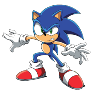 Sonic X Sonic Pose