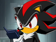 Shadow tracking down Tails and Cosmo