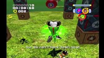 Sonic Heroes Team Chaotix vs
