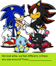 Sonic-Shadow Card 1