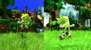 Sonic Generations Super Sonic Classic & Modern