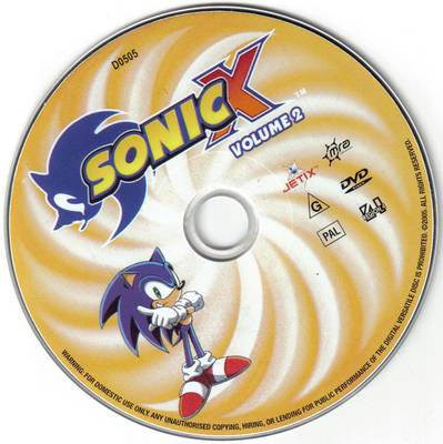 File:Sonic X Volume 2 AUS DVD.jpg