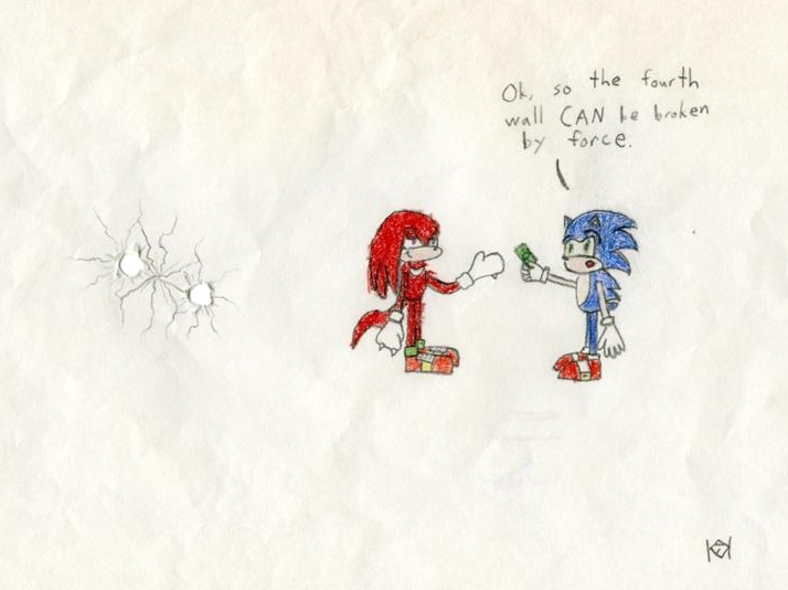 Knuckles Fourth Wall