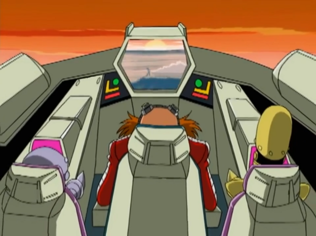 File:Ep24 Eggman Decoe and Bocoe watching Sonic running in sunrise.png
