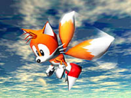 Sonic R artwork Tails