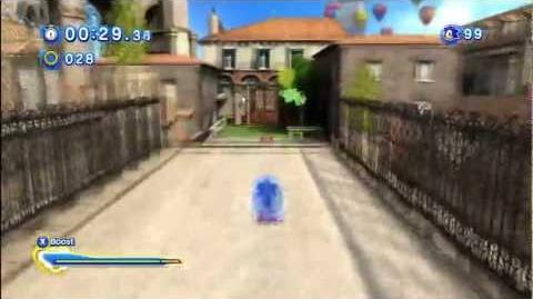 "Sonic Generations Rooftop Run (Modern) 2'08""95 1080 HD"
