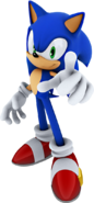 Sonic cool stance