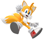 Tails in Sonic Lost World