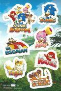 Sonic Boom Sticker Sheet