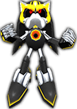 Sonic Rivals 2 - Metal Sonic costume 2