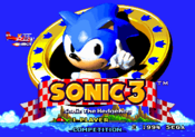 Title Screen - Sonic the Hedgehog 3