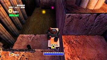 Sonic Adventure 2 (PS3) Sand Ocean Mission 2 A Rank