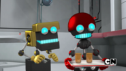 Orbot and cubots grin