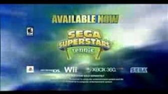 Sega Superstar Tennis (Wii) USA Commercial