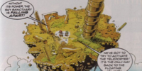 Sky Sanctuary Zone (Sonic the Comic)