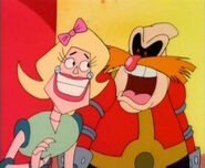 Robotnik with robo wife