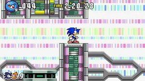 Sonic Advance 3 - Zone 6 Cyber Track - Act 1 2 3 & VS Boss