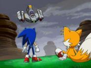 Ep28 Sonic and Tails vs Egg Hornet