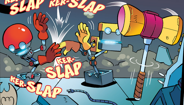 File:Cubot and Orbot fight for the hammer.png