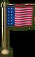 SU Empire City Miniature Flag