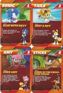 Sonic Boom Collector Cards 1