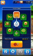Sonic Dash Daily Spin (Wait)