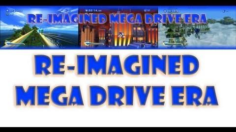 Re-Imagined Mega Drive Era Layout
