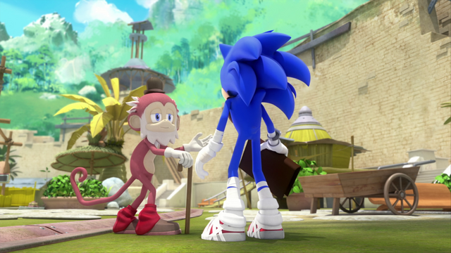 File:Old Monkey and Sonic.png