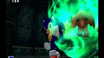 Sonic Adventure DX (GC) Sonic - Lost World Missions Level B and A