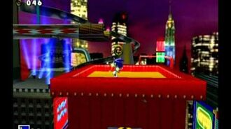 Sonic Adventure DX (GC) Sonic - Speed Highway Missions Level B and A