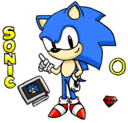 Classic Sonic by HYRO colored