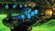 Asteroid Coaster Zone Artwork