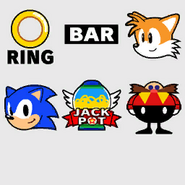 Casino Night Slot Machine icons (Sonic Generations)
