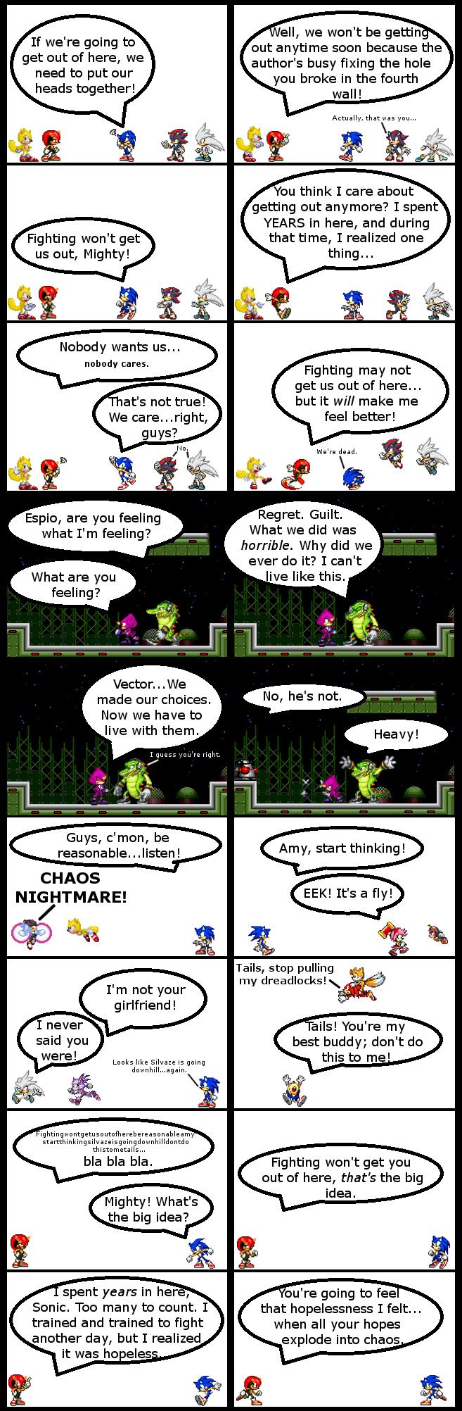 Sonic Comic 12