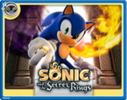 Sonic and the Secret Rings Online Card