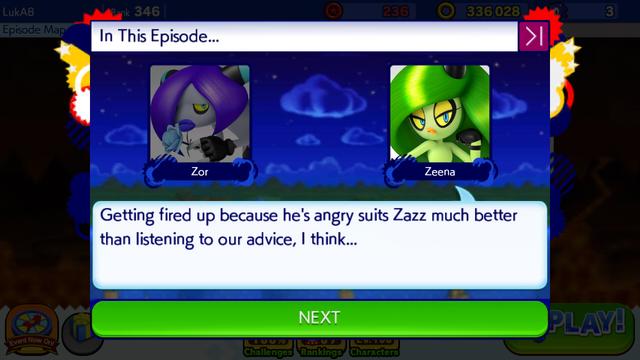 File:Sonic Runners Zazz Raid Event Zeena Zor Cutscene (10).png