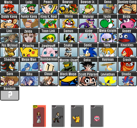Character Roster 8