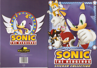 Sonic Sticket Collection cover