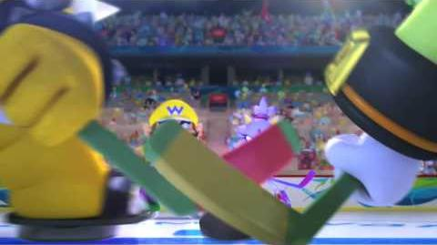 Mario & Sonic at the Olympic Winter Games E3 trailer