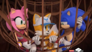 Amy Tails Sonic trapped