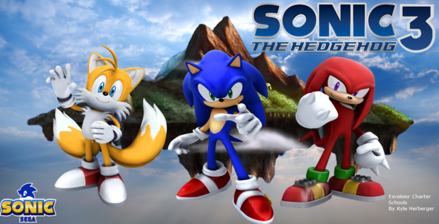 File:Sonic 3... '06 Style!.png