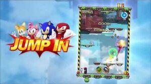 Sonic Jump Fever - Launch Trailer