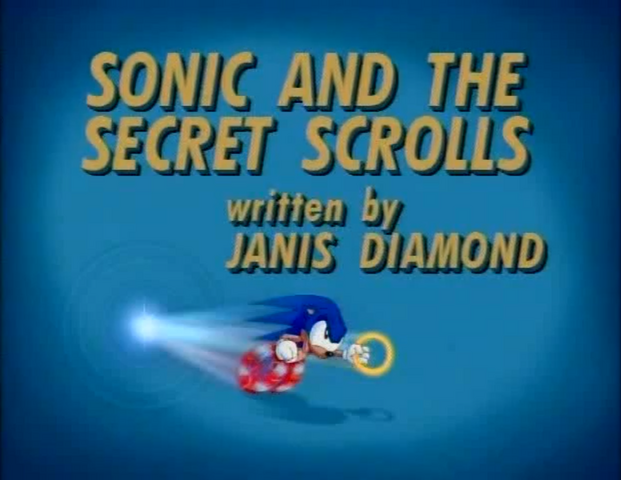 File:Sonic and the Secret Scrolls title card.png